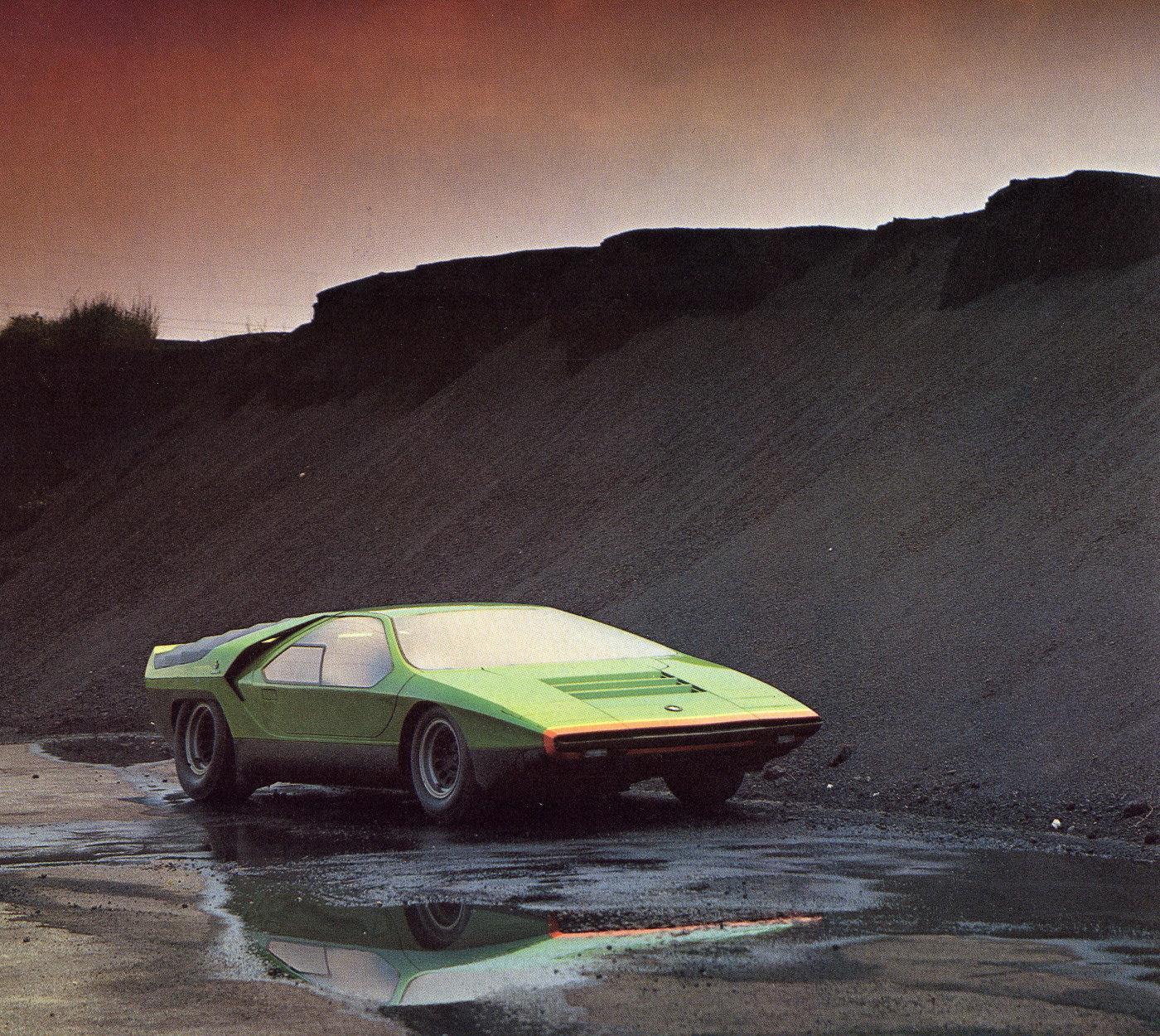 Concept Car Of The Week: Bertone Alfa Romeo Carabo (1968