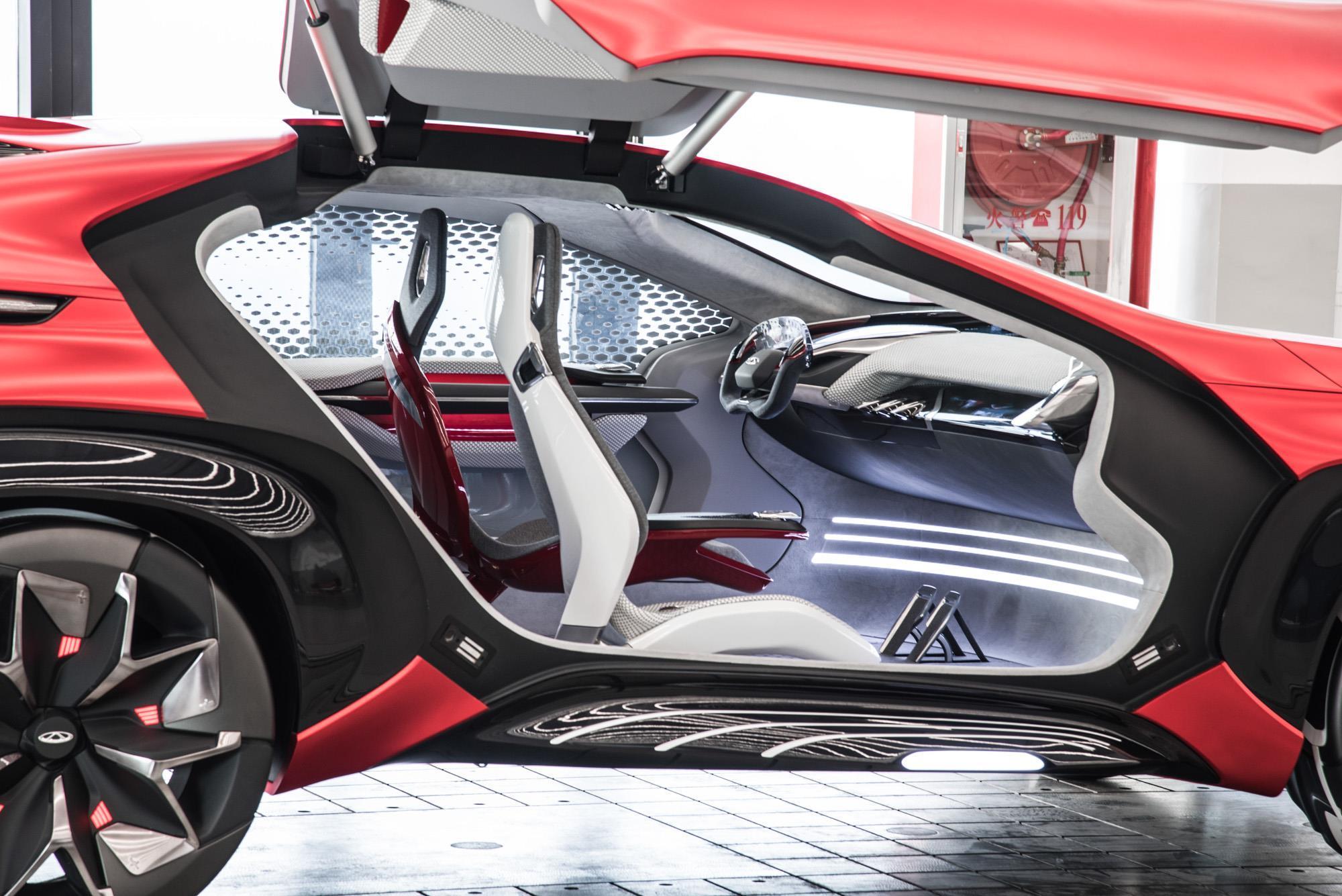 Chery FV2030 concept teased ahead of Beijing motor show