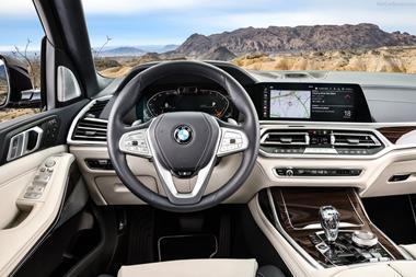 BMW X7 cockpit 2019