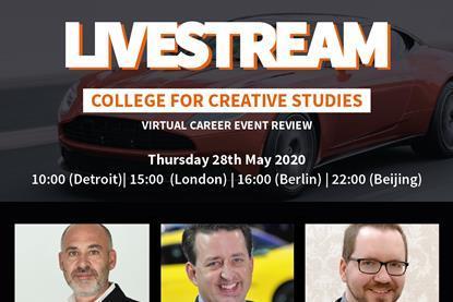 Watch College For Creative Studies Virtual Career Event Review Webinar Car Design News